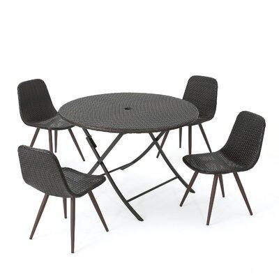 Binns Outdoor Wicker Dining Set 918 Product Photo