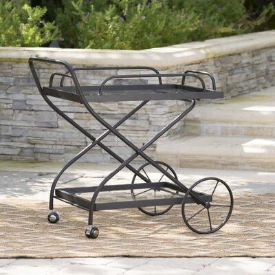 17 Stories Bar Serving Cart Outdoor Bar Sets