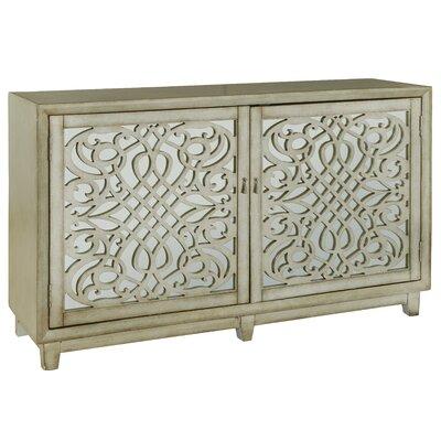 One Allium Way Credenza Accent Cabinet Door Chests Cabinets