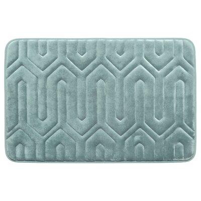 "Thea Premium Micro Plush Memory Foam Bath Mat Color: Marine Blue, Size: 32' x 20"" -  Bath Studio, YMB003714"