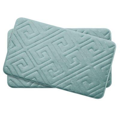 Caicos Small Premium Micro Plush Memory Foam Bath Mat Set -  Bath Studio, YMB003638