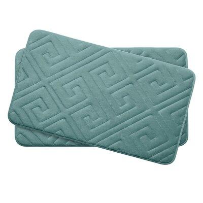 Caicos Small Premium Micro Plush Memory Foam Bath Mat Set -  Bath Studio, YMB003637