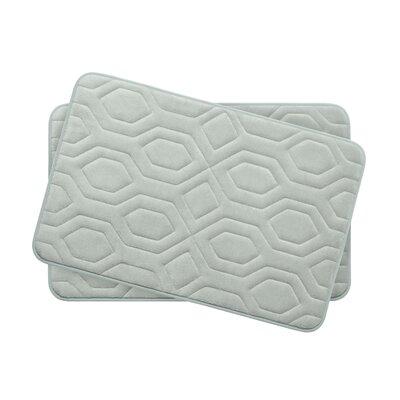 Turtle Shell Small Premium Micro Plush Memory Foam Bath Mat Set -  Bath Studio, YMB003751