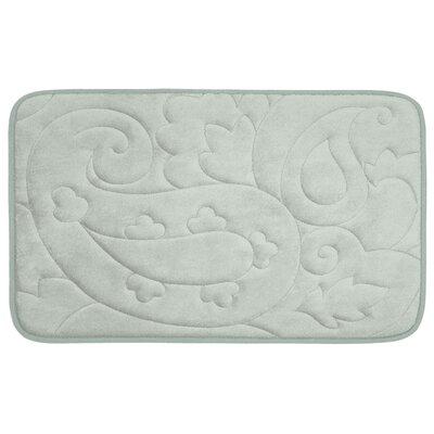 """Pelton Plush Memory Foam Bath Mat Size: 20"""" W x 32"""" L, Color: Light Grey -  Bath Studio, YMB003486"""