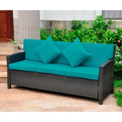 Three Posts Resin Sofa Cushions Wicker Sofas