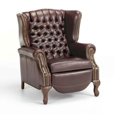 Fornirama Leather Manual Recliner