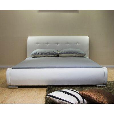 Greatime Platform Bed California King White