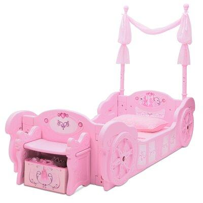 Delta Children Princess Carriage Convertible Toddler Bed
