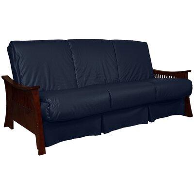 Epic Furnishings Futon Mattress Epic Furnishings Llc Mahogany Full Upholstery Navy