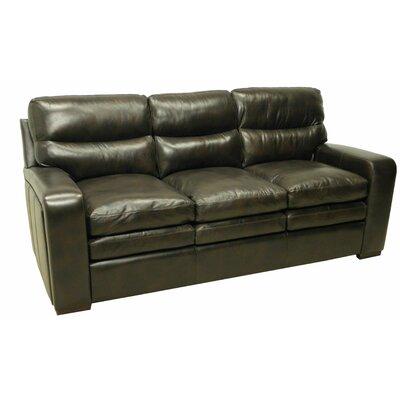 Wildon Home Leather Sofa