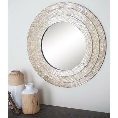 Cole Grey Wall Mirror Mosaic Mirrors