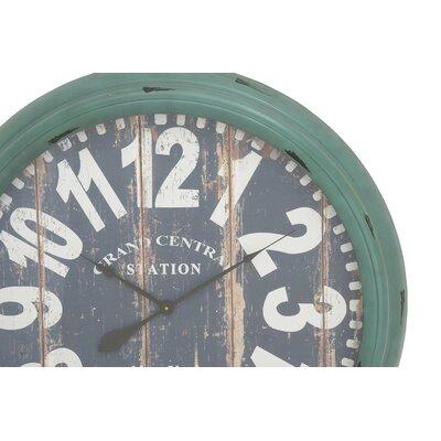 Cole Grey Wall Clock Metal Wall Clocks