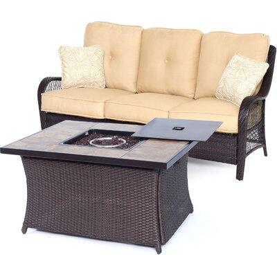 Alcott Hill Sofa Set Cushions Sahara Sand