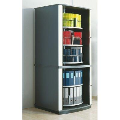 File Carousel Cabinet Five Shelving Unit