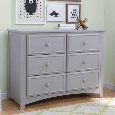 Delta Children Double Dresser Gray