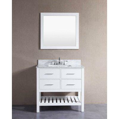 Belvederebath Single London Bathroom Vanity Set