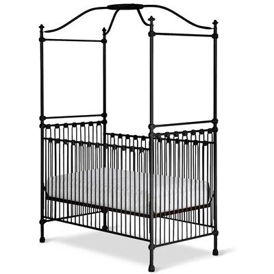 Corsican Canopy Crib Black Gloss