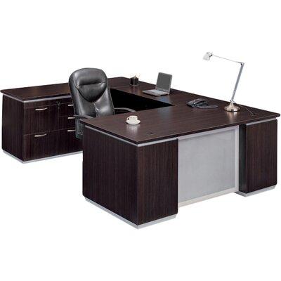 Executive Desk Mocha Laminate