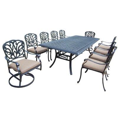 Dining Set Cushions Seat Light Beige
