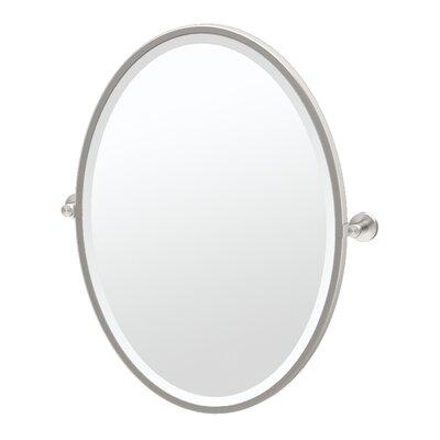Gatco Framed Oval Wall Mirror Chrome