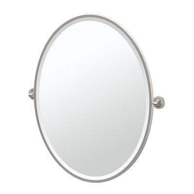 Gatco Bathroom Vanity Mirror Satin Nickel