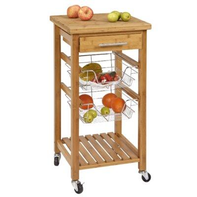 Corner Housewares Kitchen Cart Storage