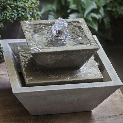 Campania Garden Terrace Fountain Concrete Fountains