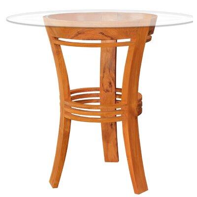 Chic Teak Moon Solid Wood Bar Table