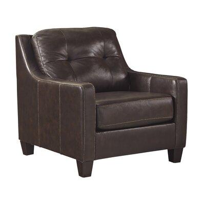 Red Barrel Studio Club Chair Mahogany Chairs
