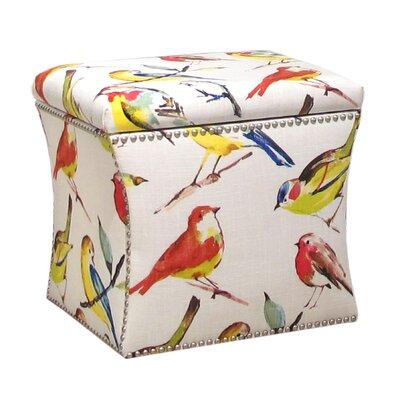 Red Barrel Studio Storage Ottoman Birdwatcher Ottoman
