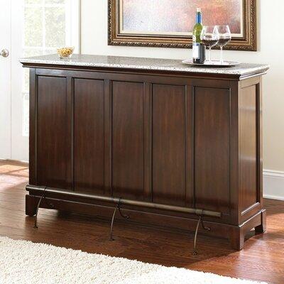 Red Barrel Studio Bar Wine Storage Counter Bar Sets