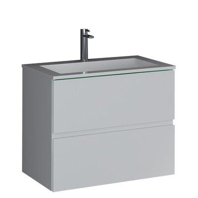 Dcor Design True Solid Surface Pedestal Bathroom Sink