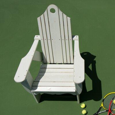 Co9 Design Solid Wood Adirondack Chair Design White
