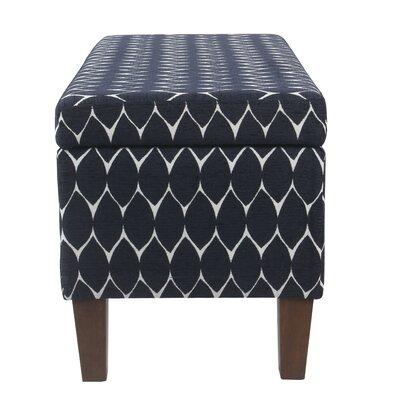 Latitude Run Upholstered Storage Bench Textured Benches