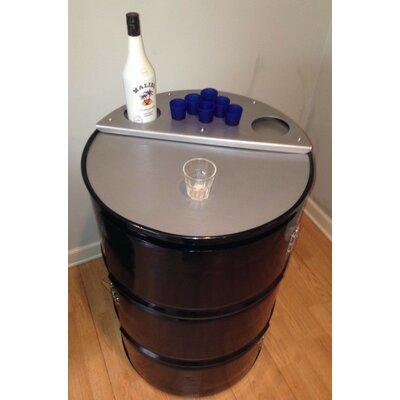 Drum Works Bar Cabinet