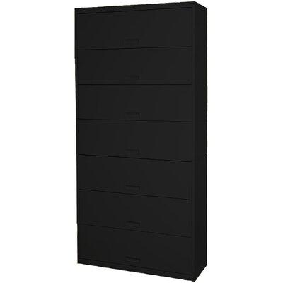 Datum Storage Door Letter Size Locking High Cabinet Black