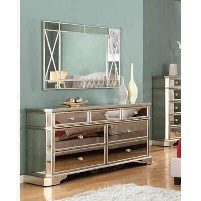 Bestmasterfurniture Drawer Dresser Mirror