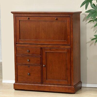 Alcott Hill Solid Wood Armoire Desk