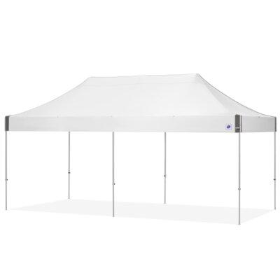 E Z Up Aluminum Pop Up Party Tent Up White