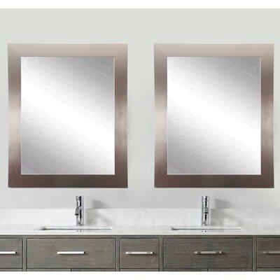 Brandtworks Silver Wall Mirror