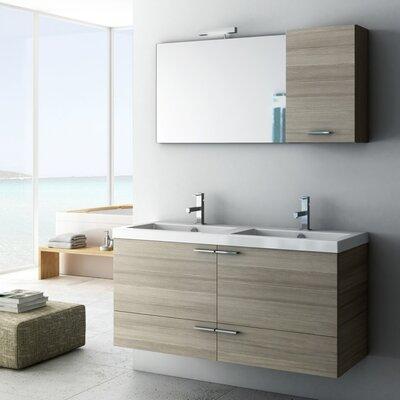 Acf Space Bathroom Double Vanity Set Base Wenge