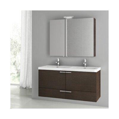 Acf Space Double Bathroom Vanity Set Base Wenge