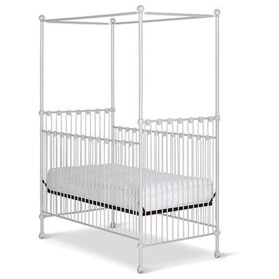 Canopy Crib White Gloss
