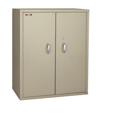 Double Door Storage Cabinet Parchment