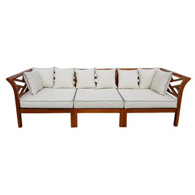 Chic Teak Island Teak Patio Sectional Cushions