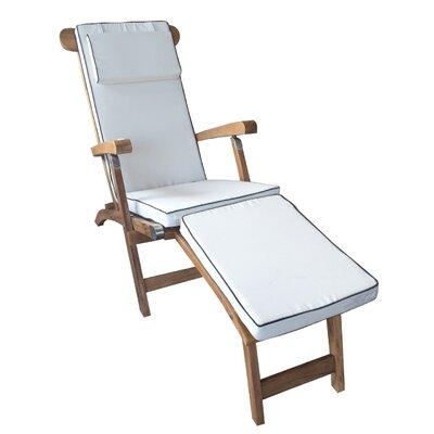 Chic Teak Teak Chaise Lounge Cushion