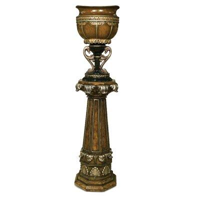 Benettis Federica Wood Urn Planter