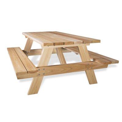 All Cedar Picnic Table Photo