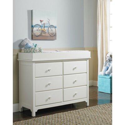 Ti Amo Changing Table Dresser Snow White