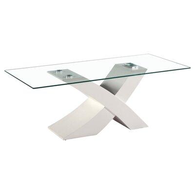 Fab Glass Mirror Modern Glass Coffee Table Fab Glass Mirror Base White